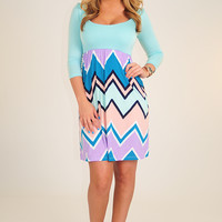 RESTOCK: Almost A Lover Dress: Multi