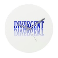 Divergent Movie Factions Design Wall Clock> Various Divergent Products> Your Entertainment