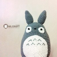 PDF Pattern My Neighbor Totoro Amigurumi Character Doll | Luulla