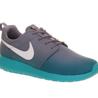 Nike Roshe Run Green Purple Fade Exclusive - Unisex Sports