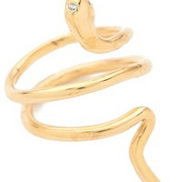 Jacquie Aiche JA Mini Snake Ring