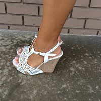White Legend Wedges