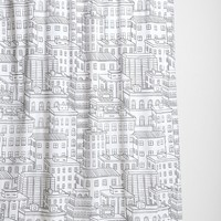 City Block Shower Curtain - Urban Outfitters