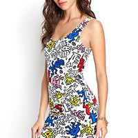 Keith Haring Cutout Dress