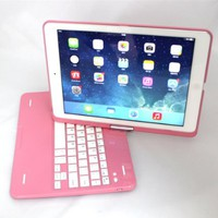 XREXS Ⓡ Tablet Bluetooth Keyboard for Ipad-air(ipad Not Included)-pink