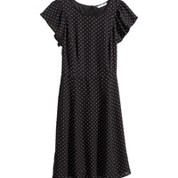 H&M - Butterfly-sleeve Dress -
