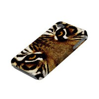 Eyes of a Tiger Iphone 4 Case-mate Case from Zazzle.com