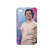 One Direction Hot Harry Styles Cute Phone Case iPhone 4 4s iPhone 5c iPhone 5 5s