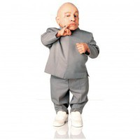 Advanced Graphics Austin Powers - Mini Me Life-Size Cardboard Stand-Up - 390 - Decor