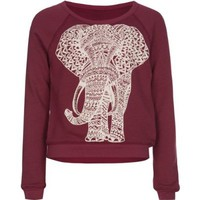 FULL TILT Elephant Girls Sweatshirt