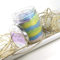 Fairy Dust scented Soy Candle, Handmade Scented Candle, 8 ounce Jar
