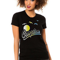 The Compton Tee in Black