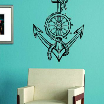 Anchor Version 5 Wall Vinyl Decal Sticker Art Graphic Sticker sea ocean