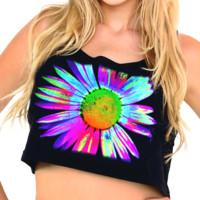 UV Daisy Crop Top