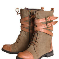 Steady As They Go Distressed Tan Boots - $46.00 : ThreadSence.com, Your Spot For Indie Clothing & Indie Urban Culture