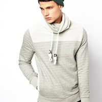 Jack & Jones Hoody With Funnel Neck