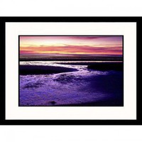 Great American Picture Tidal Flat at Sunset, Cape Cod, Massachusetts Framed Photograph - Gary D. Erc - All Wall Art - Wall Art & Coverings - Decor