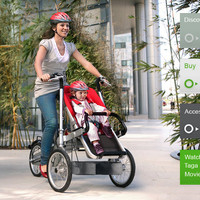 Taga the ultimate alternative to Bike Trailer and Child Bike Seat