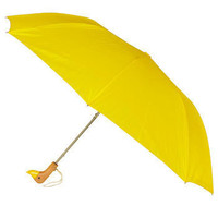 Duck, Duck, Umbrella in Yellow | Mod Retro Vintage Umbrellas | ModCloth.com