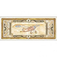 Art 4 Kids Vintage Plane I Wall Art - 61026 - All Wall Art - Wall Art & Coverings - Decor