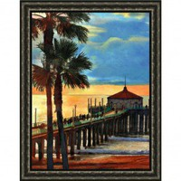 Windsor Vanguard Sunset Pier by Unknown - VC732630x40 - All Wall Art - Wall Art & Coverings - Decor