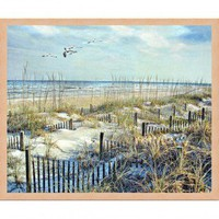 Windsor Vanguard Dune Fences by Unknown - VC731816x20 - All Wall Art - Wall Art & Coverings - Decor