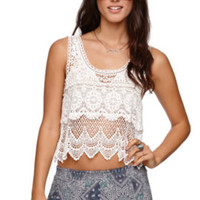 Roxy Crochet Combo Swing Tank at PacSun.com
