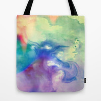 Rainbow Dancer Tote Bag by Ally Coxon | Society6