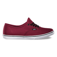 Vans Canvas Authentic Lo Pro (tawny port/true white)
