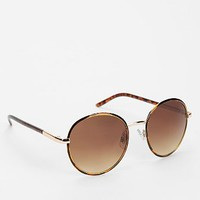 Prep School Round Sunglasses - Urban Outfitters