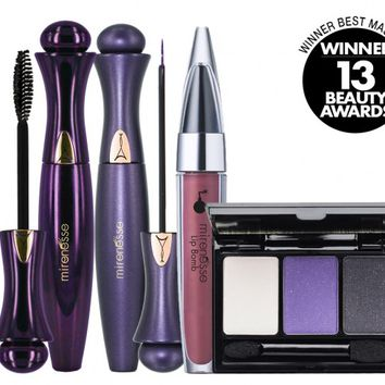 *SP TREND ALERT! NEW 24Hr Secret Weapon Purple Rain Eyeliner and Mascara! - Mirenesse