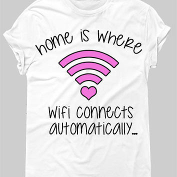 Wifi Tee - Hipster Tops