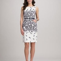 Misses | Trend Shops | The Print Dress | Roz & ALI™ Belted Paisley Dress