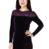 Velvet Vixen Body Con Dress - PLASTICLAND