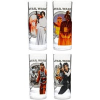 ThinkGeek :: Star Wars 10 oz. Glass Set