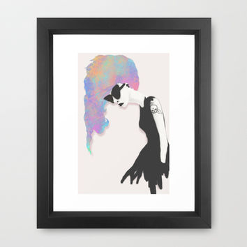 Modern Society Framed Art Print by Ben Geiger