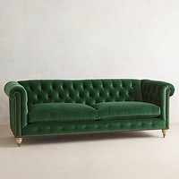 Lyre Chesterfield Sofa