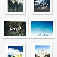 East End Prints: Leah Flores Inspiration Poster Set - Urban Outfitters