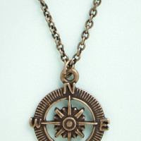 ModCloth Nautical Nostalgic Navigation Necklace
