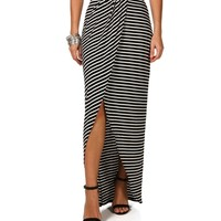 Wrap Stripe Maxi