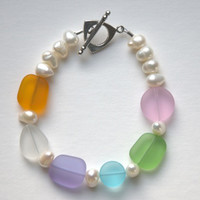 Candy & Pearls Bracelet From The Cottage & Bungalow Collection