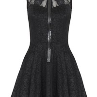Samantha Black Lace Minidress