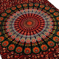 Indian Mandala Hippie Wall Hanging Tapestry Bedding Throw Ethnic Home Decor Art