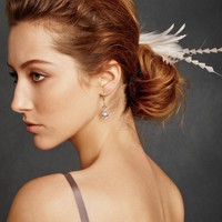 Deco Feather Clip in the SHOP Hair Adornments at BHLDN