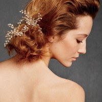 Dewed Vines Hairpin in the SHOP Hair Adornments at BHLDN