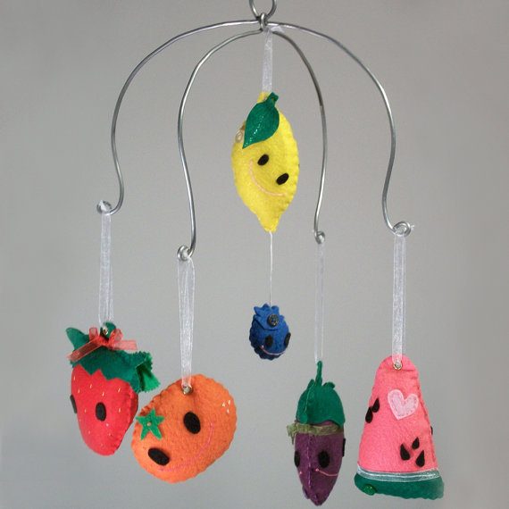 Fruity Mobile by lookmeem on Etsy