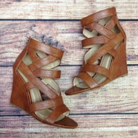THE WHITLEY WEDGE IN TAN – LaRue Chic Boutique