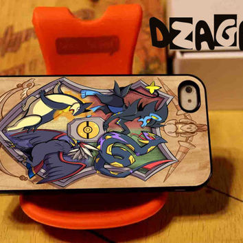 Hoghwarts Pokemon League case cell phone for iPhone 4/4S, iPhone 5/5S/5C and Samsung Galaxy S3/S4/S5