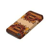 Bold Pre-Columbian Mexican Iphone 4 Case-mate Cases from Zazzle.com