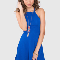 Virginia Dress - Royal Blue